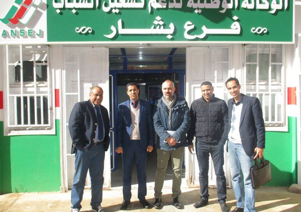 Cap Jeunesse, an Algerian mission